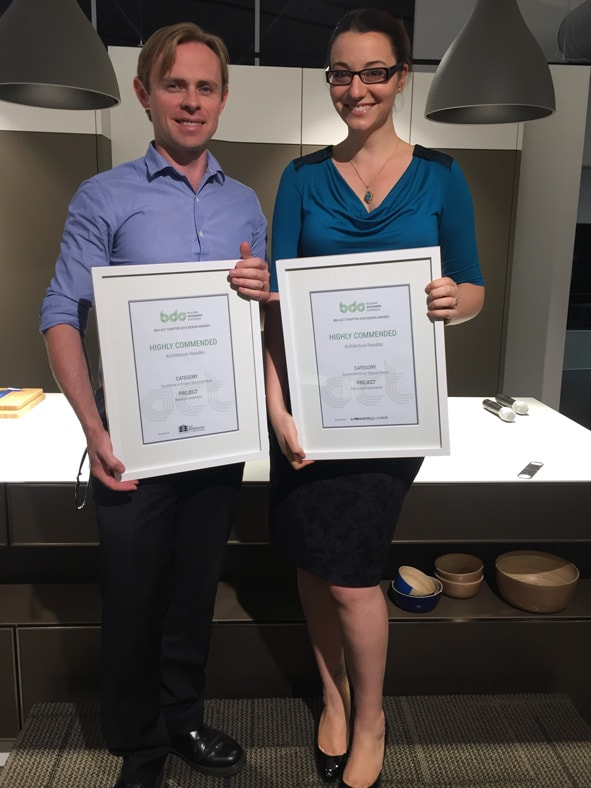 Building Designer's Association Canberra Chapter Awards